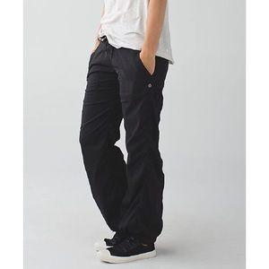 Lululemon studio pants lined, black